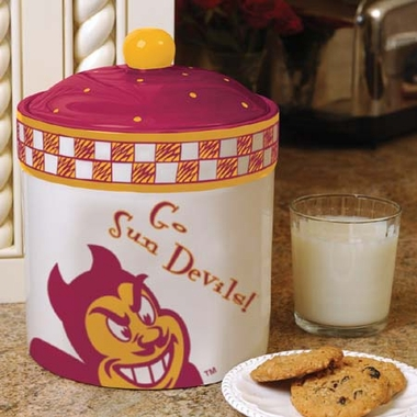 Arizona State Gameday Ceramic Cookie Jar