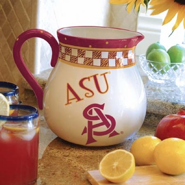 Arizona State Gameday Ceramic Pitcher