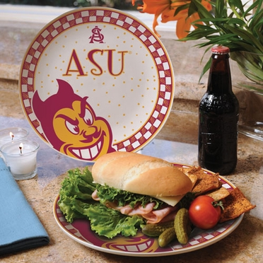 Arizona State Gameday Ceramic Plate