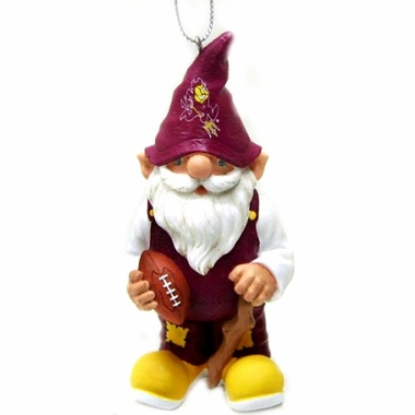 Arizona State Gnome Christmas Ornament