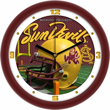 Arizona State Helmet Wall Clock