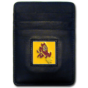 Arizona State Leather Money Clip (F)