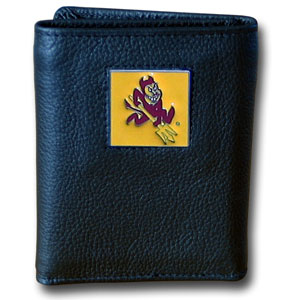 Arizona State Leather Trifold Wallet (F)