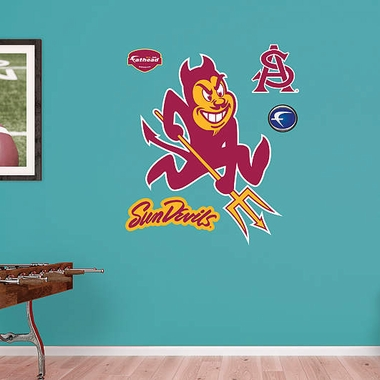 Arizona State Logo Fathead Wall Graphic