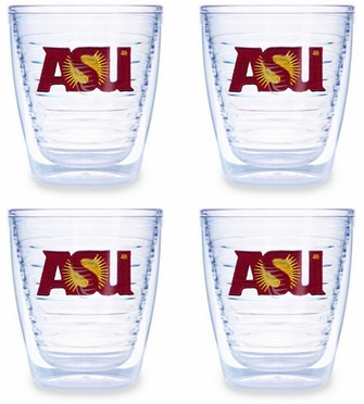 Arizona State Set of FOUR 12 oz. Tervis Tumblers