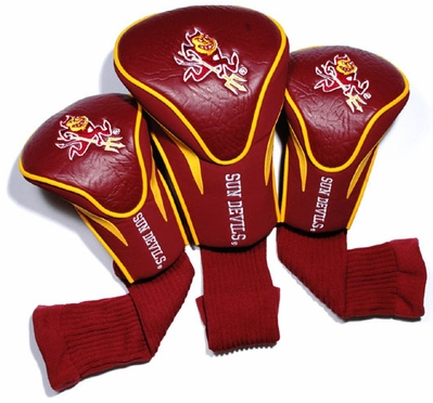 Arizona State Set of Three Contour Headcovers