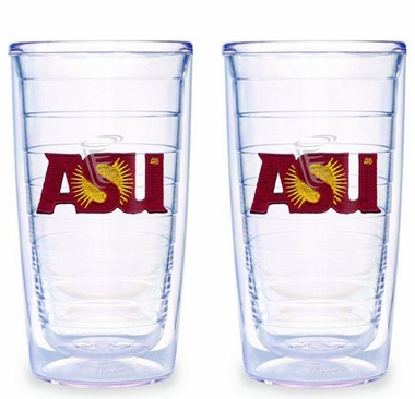 Arizona State Set of TWO 16 oz. Tervis Tumblers