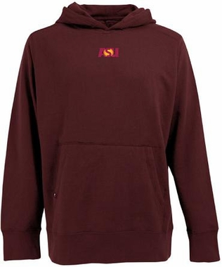 Arizona State Mens Signature Hooded Sweatshirt (Team Color: Maroon)