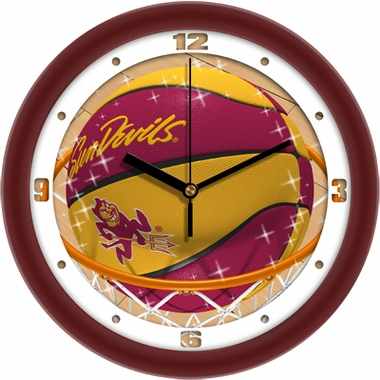Arizona State Slam Dunk Wall Clock