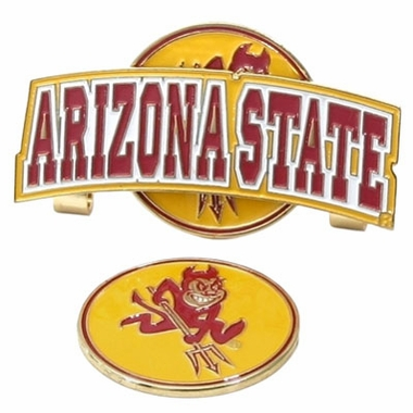 Arizona State Slider Clip With Ball Marker