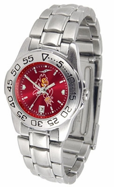 Arizona State Sport Anonized Women's Steel Band Watch