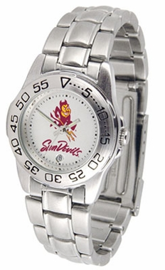 Arizona State Sport Women's Steel Band Watch