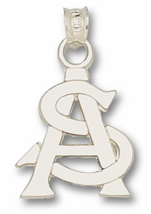 Arizona State Sterling Silver Pendant