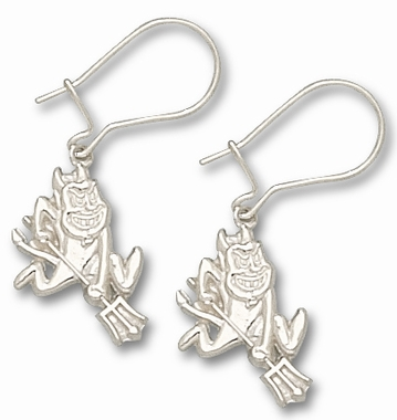 Arizona State Sterling Silver Post or Dangle Earrings