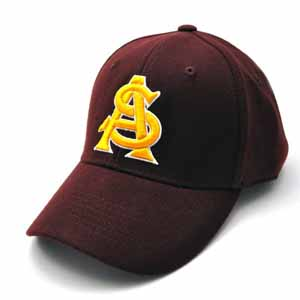 Arizona State Team Color Premium FlexFit Hat - Large / X-Large