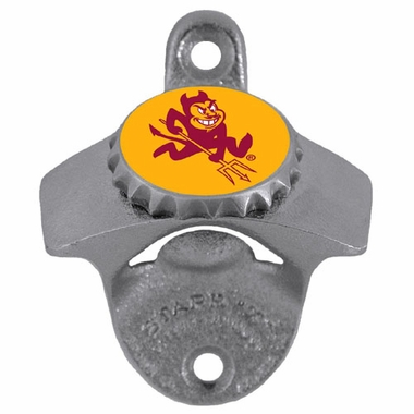 Arizona State Wall Mount Bottle Opener