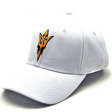 Arizona State White Premium FlexFit Hat