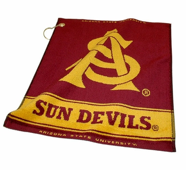 Arizona State Woven Golf Towel