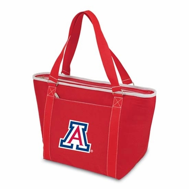 Arizona Topanga Embroidered Cooler Bag (Red  )