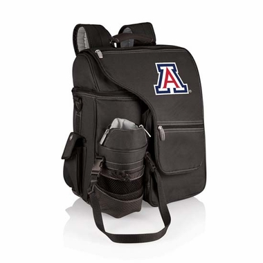 Arizona Turismo Embroidered Backpack (Black)