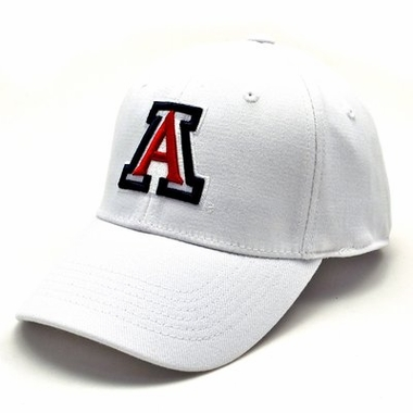 Arizona White Premium FlexFit Baseball Hat