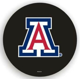 Arizona Wildcats Black Spare Tire Cover (Small Size)