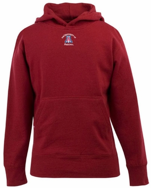 Arizona YOUTH Boys Signature Hooded Sweatshirt (Team Color: Red)