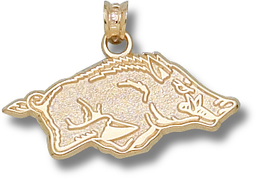 Arkansas 10K Gold Pendant