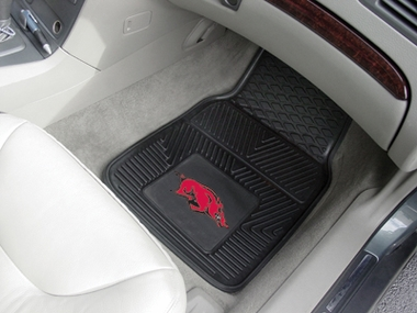 Arkansas 2 Piece Heavy Duty Vinyl Car Mats