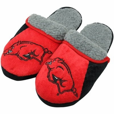 Arkansas 2012 Sherpa Slide Slippers
