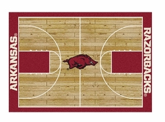"Arkansas 3'10"" x 5'4"" Premium Court Rug"