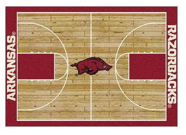 "Arkansas 5'4"" x 7'8"" Premium Court Rug"