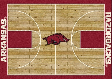 "Arkansas 7'8"" x 10'9"" Premium Court Rug"