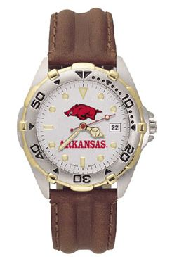 Arkansas All Star Mens (Leather Band) Watch
