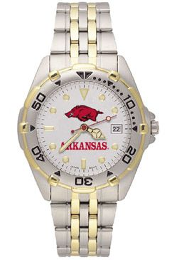 Arkansas All Star Mens (Steel Band) Watch