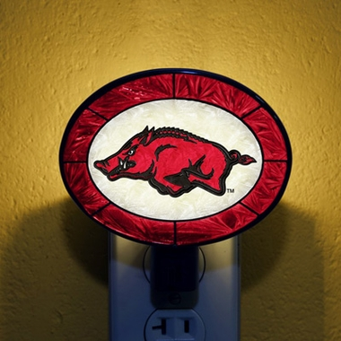 Arkansas Art Glass Night Light
