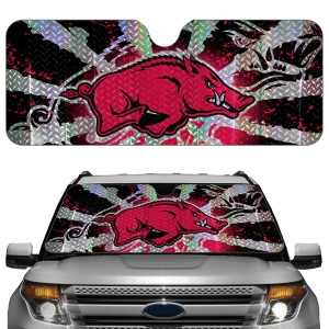 Arkansas Razorbacks Auto Sun Shade