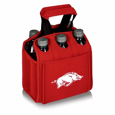 Arkansas Beverage Buddy (6pk) (Red)