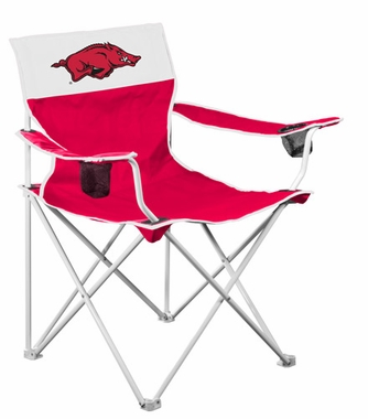 Arkansas Big Boy Adult Folding Logo Chair