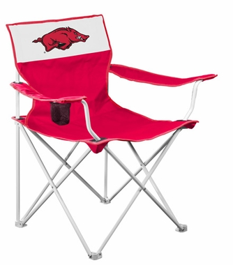Arkansas Canvas Adult Folding Logo Chair