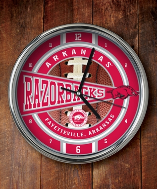 Arkansas Chrome Clock