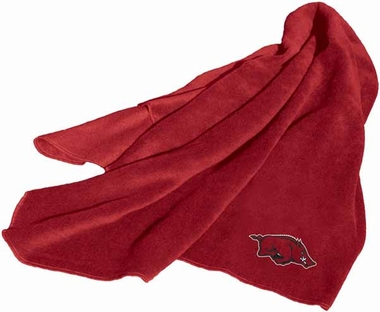 Arkansas Fleece Throw Blanket