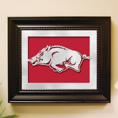 Arkansas Framed Laser Cut Metal Wall Art