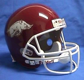 Arkansas Full Sized Replica Helmet