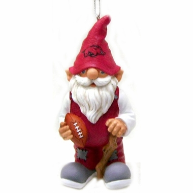 Arkansas Gnome Christmas Ornament
