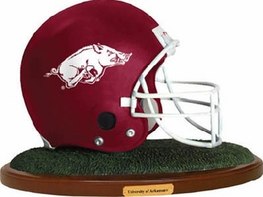 Arkansas Helmet Figurine