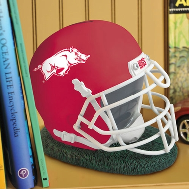 Arkansas Helmet Shaped Bank