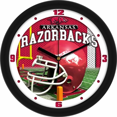 Arkansas Helmet Wall Clock