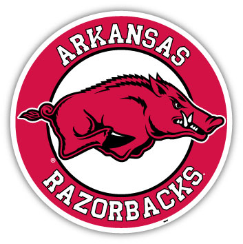 Arkansas Individual Car Magnet