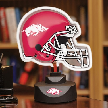 Arkansas Neon Display Helmet